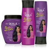 Kit #MaisLisos - Creme de Tratamento + Shampoo + Condicionador