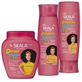 Kit Crespinho Divino Condicionador + Shampoo + Divino Potinho Kids