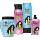 Kit #MaisCachos Shampoo, Condicionador, Creme de Tratamento e Gel Líquido