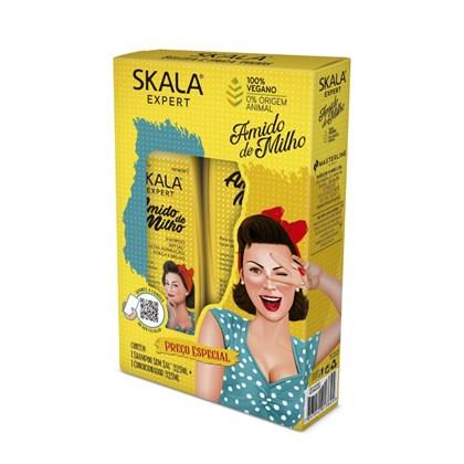 Kit shampoo e condicionador Amido de Milho