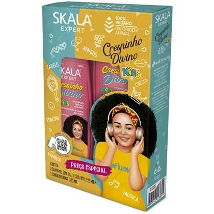 Kit shampoo e condicionador Crespinho Divino